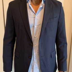 Carolina Herrera Men's Navy Suit
